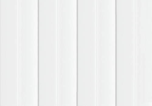 Aço Galvalume Branco RAL 9003 RIB100(Frigo)