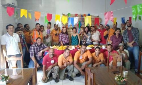 """O """"Arraiá Junino"""" na unidade de Recife aconteceu na manhã do dia 20 de junho e foi baum di mais!"""