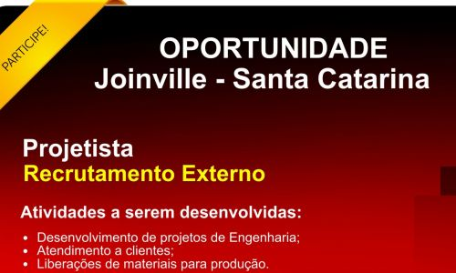 Projetista | Joinville - SC