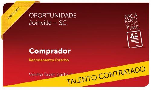 Comprador  | Joinville - SC
