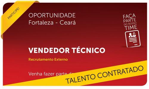 Vendedor Técnico | Fortaleza - CE