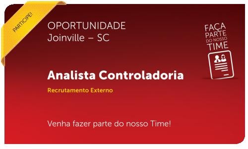Analista Controladoria | Joinville - SC