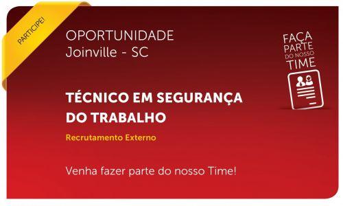 Técnico em Segurança  do Trabalho | Joinville - SC