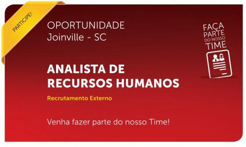 Analista de Recursos Humanos | Joinville - SC